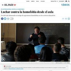 Luchar contra la homofobia desde el aula