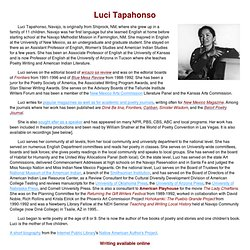 Luci Tapahonso