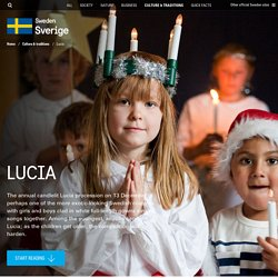 Lucia in Sweden