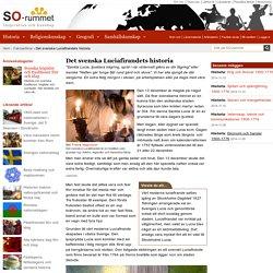 Det svenska Luciafirandets historia