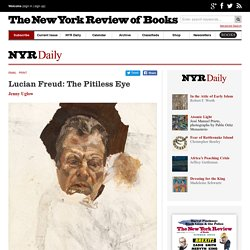 Lucian Freud: The Pitiless Eye by Jenny Uglow
