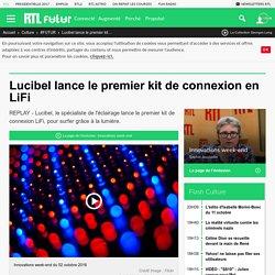 Lucibel lance le premier kit de connexion en LiFi