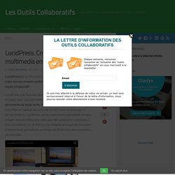 LucidPress. Creer des documents multimedia en mode collaboratif