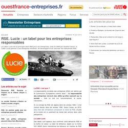 RSE. Lucie : un label pour les entreprises responsables