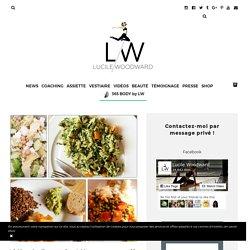 Lucile Woodward - 4 idées de dîners sains & légers pour sportifs … ou non