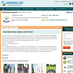 Sainik School, Lucknow, Uttar Pradesh , Boarding Edu