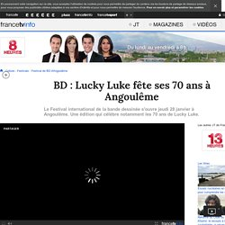 BD : Lucky Luke fête ses 70 ans à Angoulême