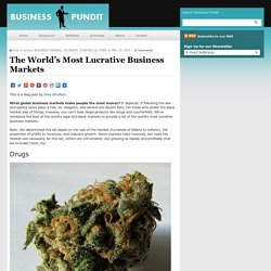The World's Most Lucrative Business Markets