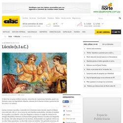 Lúculo (s.I a.C.) - Articulos