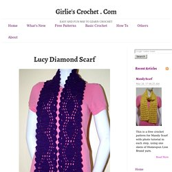 Lucy Diamond Scarf