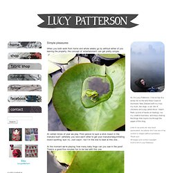 Lucy Patterson HANDS-ON