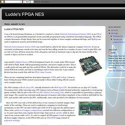 Ludde's FPGA NES