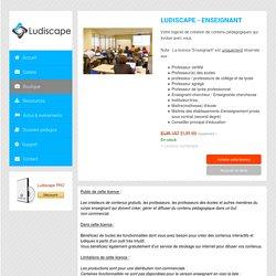 Ludiscape - Acheter une licence Enseignant