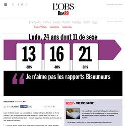 Ludo, 24ans: «Je n'aime pas les rapports Bisounours»