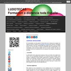 Ludotecas: instalaciones - Cursos a distancia de Ludotecas y Juegos