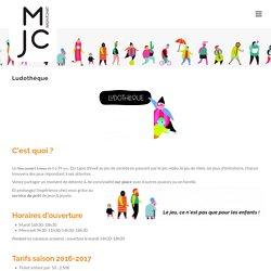 Ludothèque - Mjc Montchat