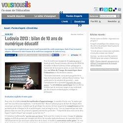 Ludovia 2013 : bilan de 10 ans de numériqueéducatif