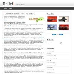 Ludovia 2011 : table ronde sur les ENT