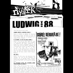 Ludwig Von 88 - NYARk nyarK - Punk et Rock alternatif Français 76/89