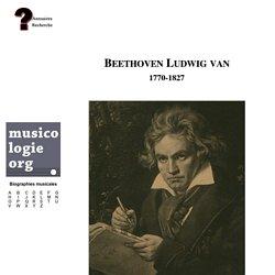 Ludwig Beethoven (1770-1827)