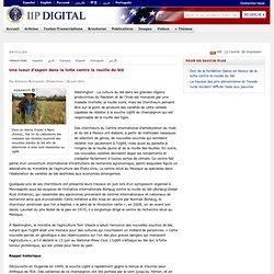 AMBASSADE DES ETATS UNIS 30/06/11 Une lueur d'espoir dans la lutte contre la rouille du blé