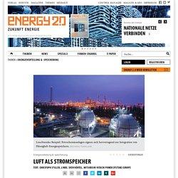 Luft als Stromspeicher - Energy 2.0