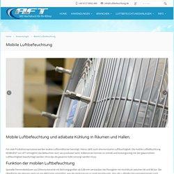 Mobile Luftbefeuchtung für Gewerbe & Industrie