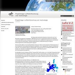 Projektträger Luftfahrtforschung und -technologie - Home