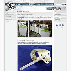 Softwarelösungen für die Metall-und Luftfahrtindustrie, Laserschneiden, Wasserstrahlschneiden, Stanzen, 3D-Konstruktion, CAD/CAM - Blechteil des Monats