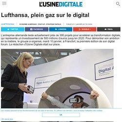Lufthansa, plein gaz sur le digital