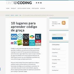 10 lugares para aprender código de graça