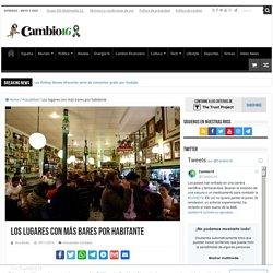 Los lugares de España con más bares por habitante