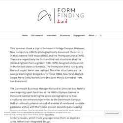 Pier Luigi Nervi in America (part 1) – Hanover – Form Finding Lab