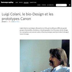 Luigi Colani, le bio-Design et les prototypes Canon