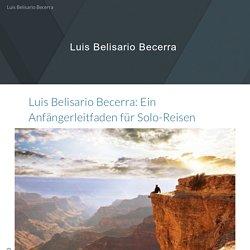 Luis Belisario Becerra