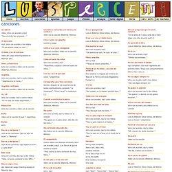 Luis Pescetti » canciones