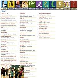 Luis Pescetti » juegos