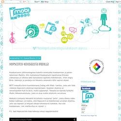 Hopscotch-koodausta iPadilla