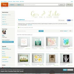 Gus & Lula art prints for a happy home by GusAndLula