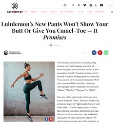 Lululemon New Pants Collection