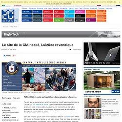 Le site de la CIA hacké, LulzSec revendique