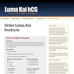 Luma Kai hCG - Weight loss Denver