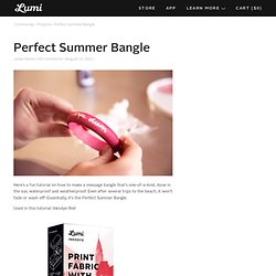 Perfect Summer Bangle - StumbleUpon