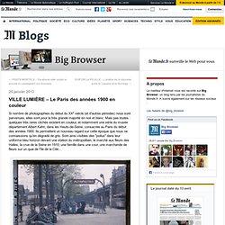 VILLE LUMIÈRE – Le Paris des années 1900 en couleurs