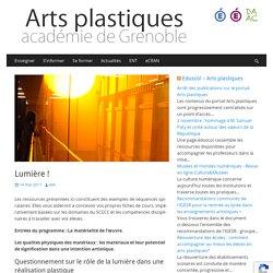Lumière ! – Arts plastiques