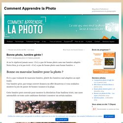 Comment Apprendre la Photo