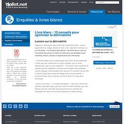Fiches délivrabilité : Dolist, fiches conseils sur la délivrabilité et l'e-marketing