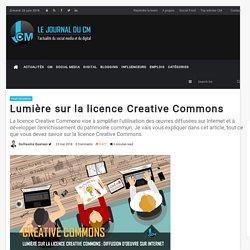 Lumière sur la licence Creative Commons