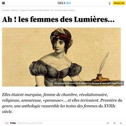 Ah ! les femmes des Lumières... - 10 mars 2013