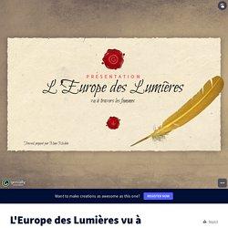 L'Europe des Lumières vu à travers les femmes by caroline.michea on Genially